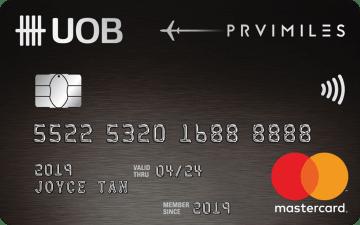UOB PRVI MASTERCARD Miles Card